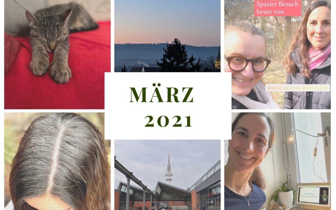 Monatsrückblick März 2021 – von guten und schlechten Zeitpunkten