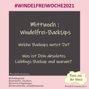 Windelfreiwoche 2021 Mittwoch