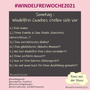 Windelfreiwoche 2021 Sonntag