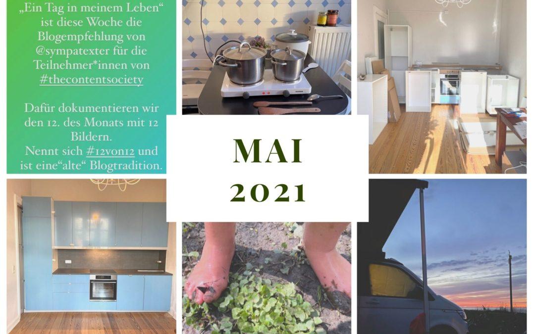 Monatsrückblick Mai 2021: Camping zu Hause und auf dem Campingplatz