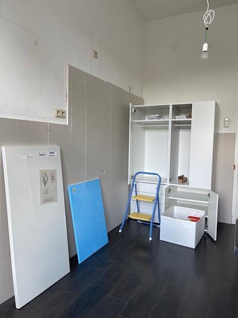 Zimmer mit Rigipsplatten