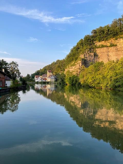 Neckar in Rottenburg