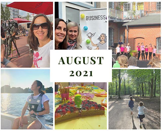 Monatsrückblick August 2021: Brückenjahr, Bloggen und eine neue Aktivität